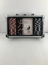 The Famous Grouse Poker Chip Dice Card Set Carry Case