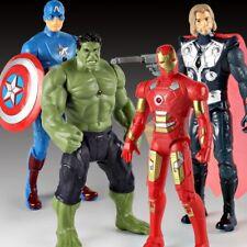 Revenge Movable Action Figure Super Heros Ironman Thor Hulk Glow Toys PVC Xmas