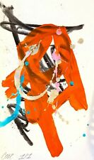 CORBELLIC ABSTRACT EXPRESSIONIST ORIGINAL CHILDREN CONTEMPORARY HOME COLLECTIBLE