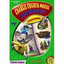 Charlie Churchmouse: Preschool - Computer game - educational - Win - NIB