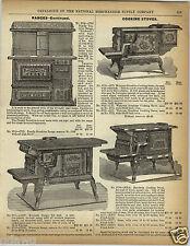 1892 PAPER AD Cast Iron Cooking Stove Sunshine Henrietta Nunsuch PoseyBeautiful