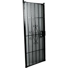 "36"" x 80"" Security Door Black"