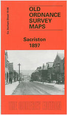 OLD ORDNANCE SURVEY MAP STANHOPE 1895 GREEN HEAD LOW SHITTLEHOPE