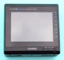 CASIO TV-8500V Pocket Television MINT CONDITION Vintage Retro Rare Made in Japan