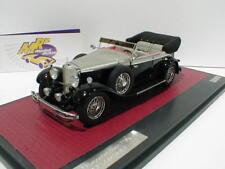 Matrice 41302-101 - mercedes benz 770k Cabriolet Année modèle 1930 noir-argent 1:43