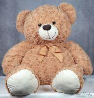 """Circo Teddy Bear Brown Tan Cream 34"""" Stuffed Animal Plush"""