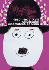Decor Graphic Design movie Poster.Purple HAPPY Charlie Chaplin art.Cuban Cinema