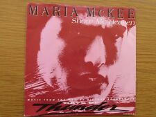 """MARIA McKEE Show Me Heaven 1990 UK 7"""" VINYL SINGLE 1990s POP CLASSIC HANS ZIMMER"""