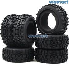 6 Stk RC 1/8 Off Road Reifen Tires Für AKA Proline HPI DE Racing 1:8 Buggy Felge