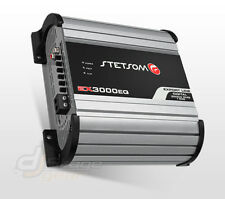 Stetsom EX3000EQ - 1Ohm Mono Amp High Power Car Audio Digital Amplifier 3600W 3K