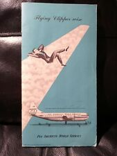 More details for pan american clipper 32 page flight guide
