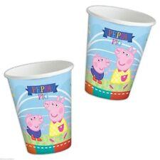 Bicchieri in carta 260 ml Peppa Pig 8 pz