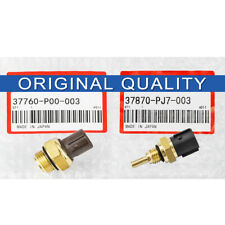 2PCS OEM Coolant Temperature Sensor & Switch For HONDA Civic ODYSSEY ACURA ISUZU