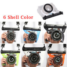 Universal Waterproof Housing Case Dry Pouch For Nikon Canon DSLR SLR lens Camera