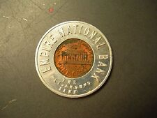 1971 Encased Penny EMPIRE NATIONAL BANK FREE SAMPLE