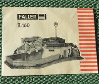 Faller AMS  -- Original Anleitung für Bausatz 160