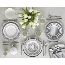 Kate Spade New York Charlotte Street East 16-Piece Dinnerware Set - Slate