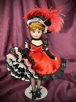 Madame Alexander Doll 1989 Jane Avril Moulin Rouge Exclusive EUC