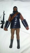 Planet of the apes soldier variant lizard ,snake skin tunic jacket & gloves Mego