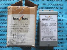 Federal Pacific SE2N.050F Transformer 0.05 KVA 240X480 New