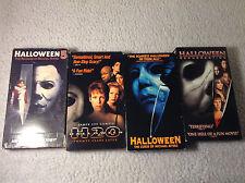 Halloween 5-8 [VHS 4-Tape Lot] Horror Slasher Michael Myers