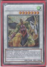 YU-GI-OH Nebeltal Donnerherrscher Secret rare HA02-DE060
