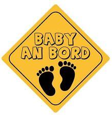 Autoaufkleber Achtung Baby an Bord Aufkleber Sticker