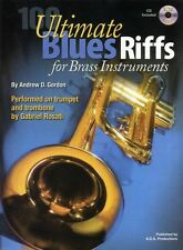 Andrew D. Gordon 100 Ultimate Blues Riffs Learn to Play Trumpet Music Book & CD