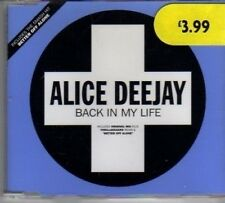 (BJ241) Alice Deejay, Back In My Life - 1999 CD