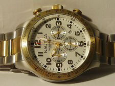 Nautica A19541G Mens Chronograph 100m  watch rrp £299