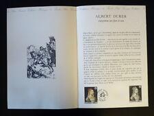 FRANCE MUSEE POSTAL FDC 18-80   ALBERT DURER   2F   PARIS   1980