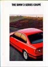+ + RIDUZIONE + + BMW SERIE 3 Coupe (E36). 1992, le vendite di automobili opuscolo