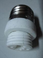 PORTALAMPADA PORTA LAMPADINA ADATTATORE da 27 a G9 LAMPADA FARETTO RISPARMIO LED