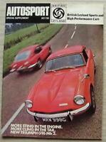 AUTOSPORT SPECIAL BRITISH LEYLAND Sports & High Performance Cars Magazine 1968