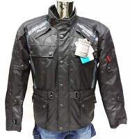 Viper Journey 3/4 Textile Waterproof CE Armoured Motorcycle Jacket Black