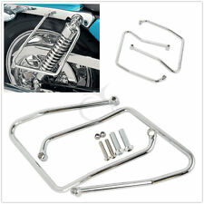 Saddlebag Support Brackets Chrome For Harley Sportster XL 883 1200 2004-2016 15