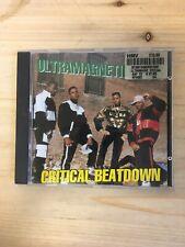 Ultramagnetic MC's - Critical Beatdown CD