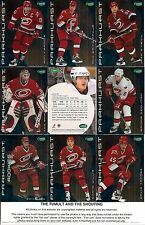 2001-02 Parkhurst by ITG Carolina Hurricanes Regular Team Set (11)