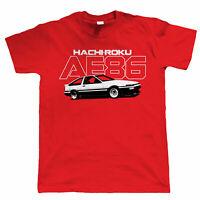 AE86 Hachiroku Mens T Shirt - JDM Drift Corolla Levin Trueno 4A-GE