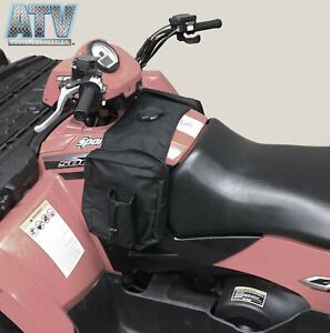 Padded Cargo Storage Bag for ATV UTV Motorcycle, Black