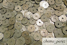 // Lote 50 monedas de 50 centimos peseta 1949 - 1963 niquel \