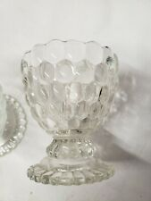 Vintage Avon Bubble Glass Candle Holders , Avon collectables,