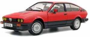 SOLIDO ALFA ROMEO GTV6 RED 1984 1-18 SCALE S1802301