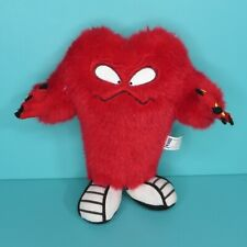"Looney Tunes Six Flags Gossamer Red Monster 7"" Plush Stuffed Animal Warner Bros"