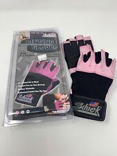 NEW SCHIEK LIFTING GLOVES 520P Women Wrist Wraps Gel Padding Pink XS