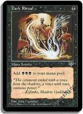 Dark Ritual SP Mirage/3rd Edition/Ice Age MTG Magic The Gathering Black Eng