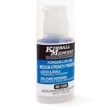 Kimball Midwest 80-1209 Torque-Lok Gel Medium Strength Blue Threadlock 1.16oz