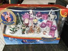 Rudolph The Red Nose Reindeer Ultimate 12 Piece Figurine Collection New In Box