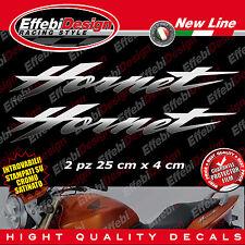 Adesivi/Stickers HONDA HORNET CB 600 900 cromate/sfumate codone real cromo !!