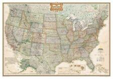 National Geographic Reference Map Ser.: United States - National Geographic by National Geographic Maps Staff (2014, Sheet Map, Rolled)